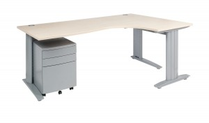 C Style Corner Desk Frame