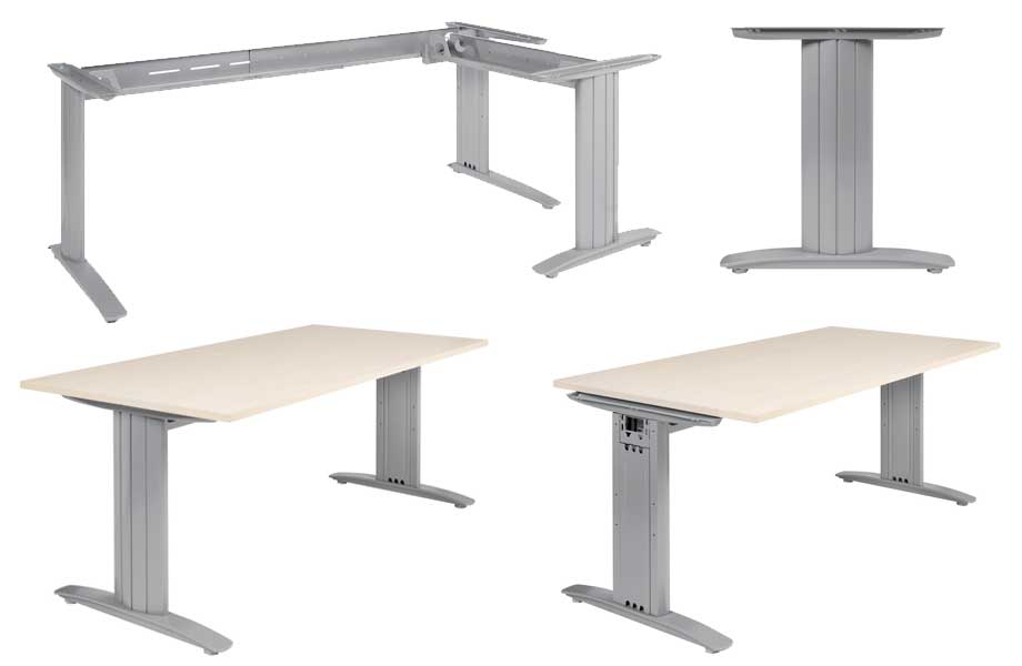 I Style Corner Desk Frame - Euro-Fit Systems Ltd Euro-Fit Systems